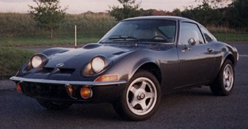 Beautiful Black Opel GT